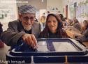 استقبال پور شور گمیشانی ها از انتخابات