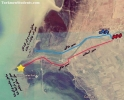 نقشه محل شنا چارقلی-توماچلر