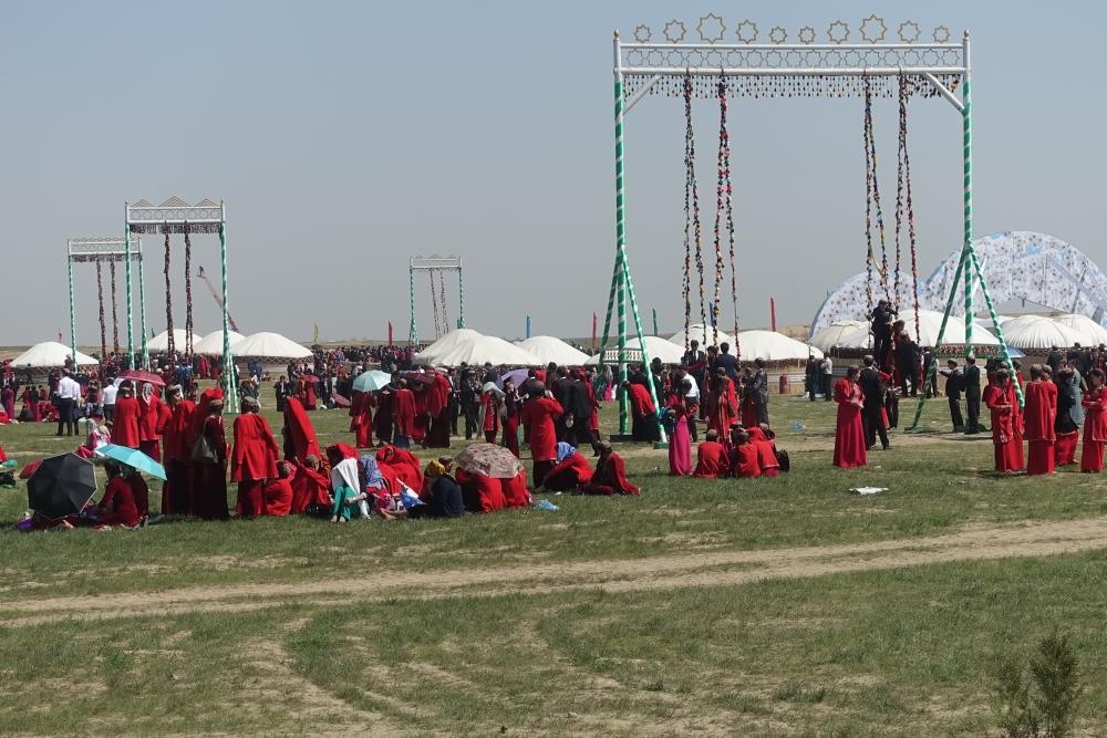 آیین نوروز در بین ترکمن ها
