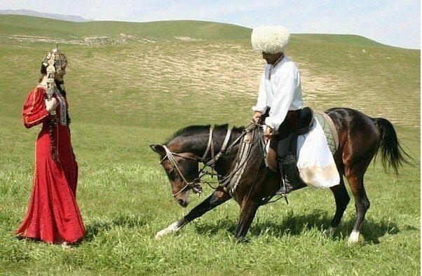 اسب ترکمن: بال پرواز ترکمن