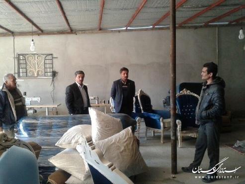 روستای عطاآباد آق قلا، پایتخت مبل ایران