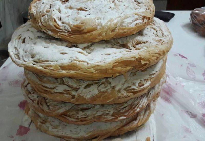 دستور پخت نان قاتلمه ترکمنی
