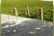 حریق در محوطه گورستان باستانی خالدنبی (ع)کلاله