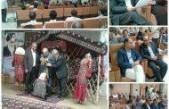 رونمایی از کتاب زبان و ادبیات ترکمنی در دانشگاه پیام نور گنبدکاووس