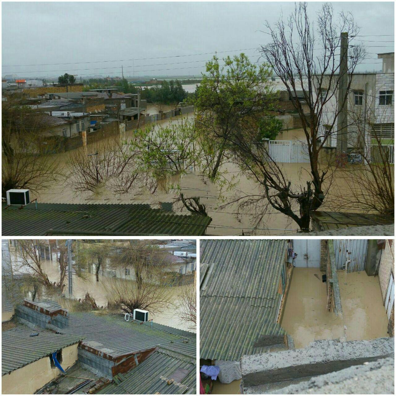 سرریز شدن سد «گلستان» و «بوستان»/ لزوم تخلیه روستاهای شمال و شرق گلستان