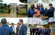 ایجاد مرکز اختصاصی خدمات خسارت سیلزدگان در آق قلا توسط بیمه ایران