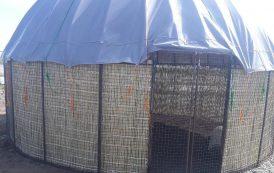 آلاچیق ترکمنی بهترین اقامتگاه موقت برای سیلزدگان