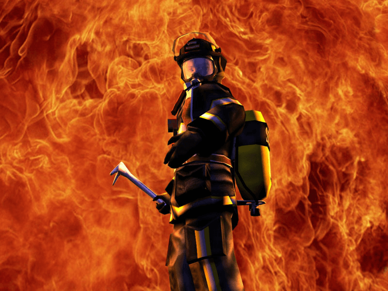 نحوه ورود به شغل آتش نشانی