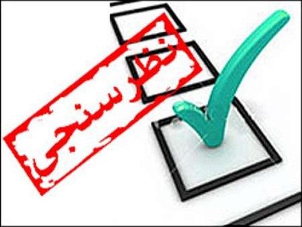 نظرسنجی انتخابات