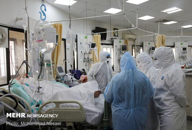 ظرفیت بیمارستان های گلستان تکمیل شد